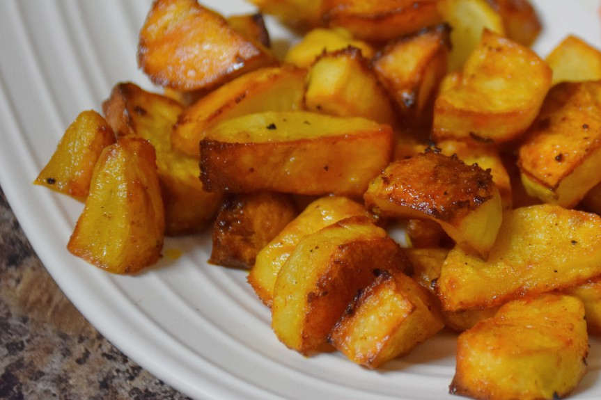 Mom's Roasted Potatoes
